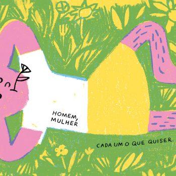 """Imagem: """"Menino Menina"""" de Joana Estrela"""